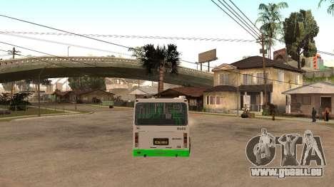 LiAZ-5256.40 pour GTA San Andreas vue de droite