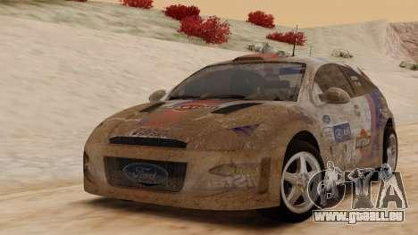 Ford Focus Touring Car für GTA San Andreas zurück linke Ansicht