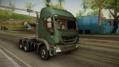 Iveco Trakker Hi-Land 6x4 Cab High v3.0 für GTA San Andreas