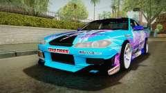 Nissan Silvia S15 Cirno Touho Project Itasha