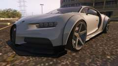 Bugatti Chiron Widebody