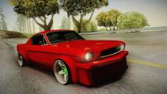 Ford Mustang Fastback 289 Wide Body 1966 pour GTA San Andreas