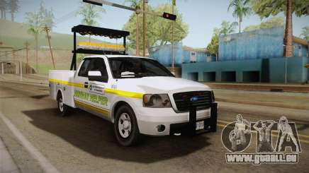 Ford F-150 2005 San Andreas DOT Highway Helper pour GTA San Andreas