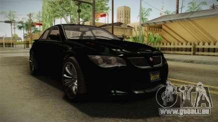 GTA 5 Ubermacht Sentinel Sedan für GTA San Andreas