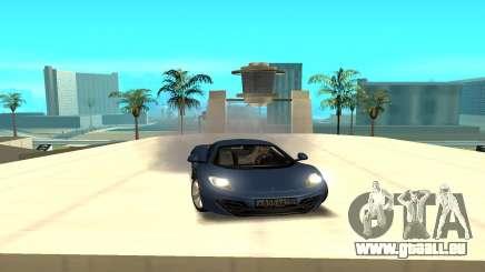 McLaren pour GTA San Andreas