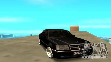 Mercedes Benz E500 W124 pour GTA San Andreas