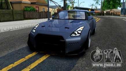 Nissan GT-R35 Rocket Bunny pour GTA San Andreas