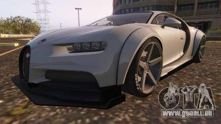 Bugatti Chiron Widebody pour GTA 5
