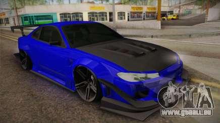 Nissan Silvia S15 Crew 99 für GTA San Andreas