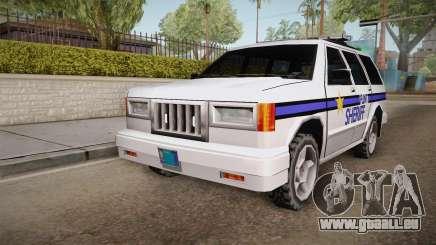 Albany Landstalker 1992 Flint County Sheriff pour GTA San Andreas