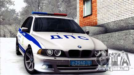 BMW E39 540i Russian Police für GTA San Andreas