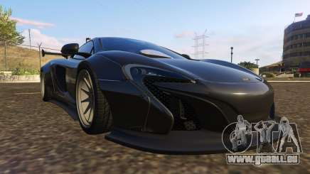 McLaren 650S Coupe Liberty Walk pour GTA 5