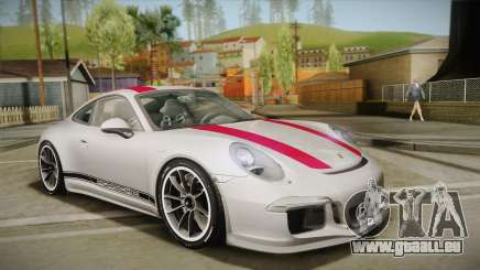 Porsche 911 R (991) 2017 v1.0 Red pour GTA San Andreas