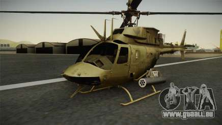 OH-58D Croatian Air Force für GTA San Andreas