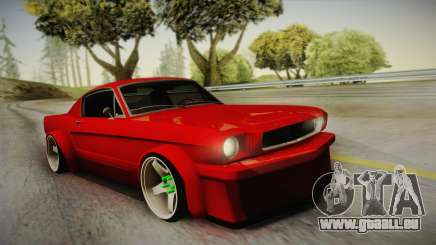 Ford Mustang Fastback 289 Wide Body 1966 für GTA San Andreas