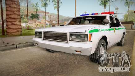 Brute Stainer 1993 Park Ranger pour GTA San Andreas