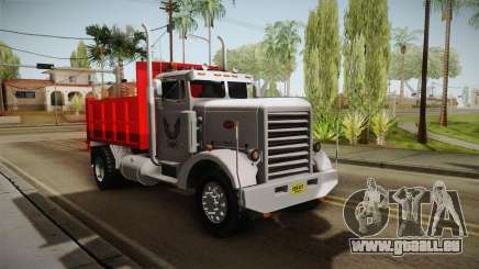 Peterbilt 351 Dump Truck für GTA San Andreas
