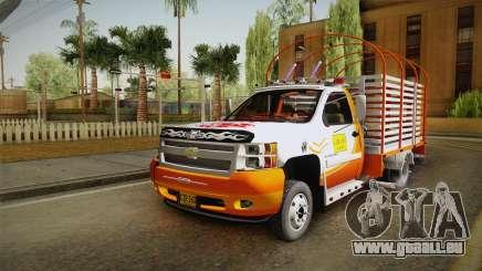 Chevrolet Silverado 3500 pour GTA San Andreas