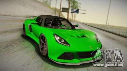 Lotus Exige Sport 350 Roadster Type 117 2014 für GTA San Andreas