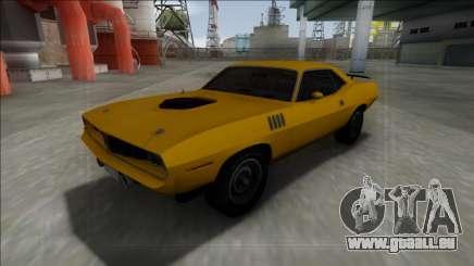1971 Plymouth Hemi Cuda 426 pour GTA San Andreas