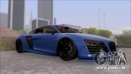 Audi R8 5.2 V10 Plus LB Walk V2.0 pour GTA San Andreas