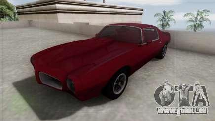 1970 Pontiac Firebird pour GTA San Andreas