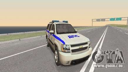 Chevrolet Tahoe Police DPS pour GTA San Andreas