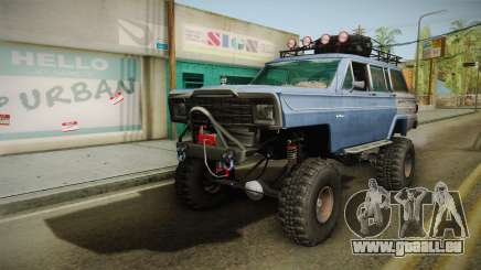 Jeep Wagoneer Off Road pour GTA San Andreas