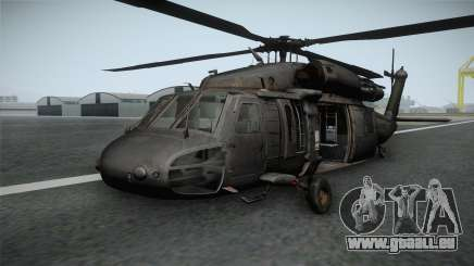CoD 4: MW - UH-60 Blackhawk RAF Remastered pour GTA San Andreas