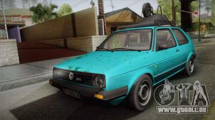 Volkswagen Golf Mk2 1991 pour GTA San Andreas