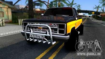 Chevrolet Silverado K-10 2500 1986 für GTA San Andreas