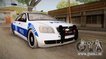 Chevrolet Caprice Turkish Police pour GTA San Andreas