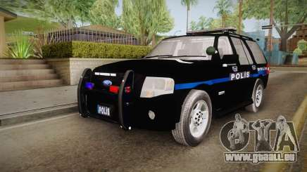 Ford Ranger Police pour GTA San Andreas