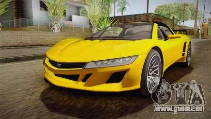 GTA 5 Dynka Jester Spider IVF für GTA San Andreas
