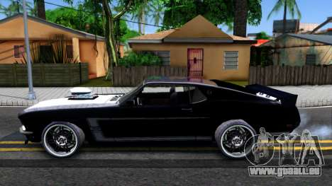 Ford Mustang Boss 557 pour GTA San Andreas
