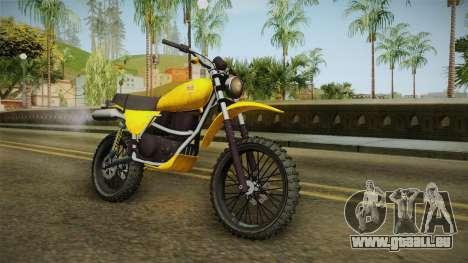 GTA 5 Dinka Enduro SA Style pour GTA San Andreas