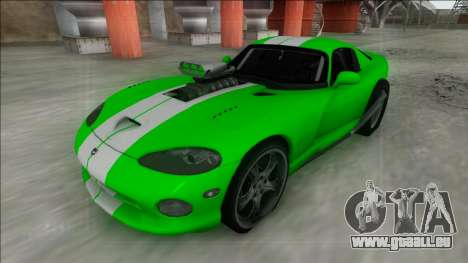 Dodge Viper GTS Drag für GTA San Andreas