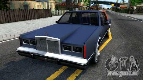 Lincoln Town Car 1981 pour GTA San Andreas