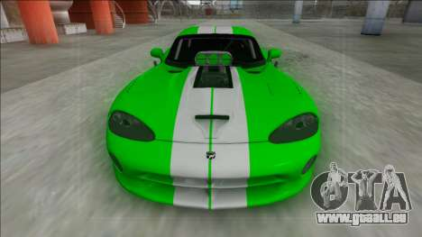 Dodge Viper GTS Drag für GTA San Andreas rechten Ansicht