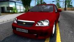 Chevrolet Lacetti Sedan v1.2 für GTA San Andreas