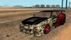 Nissan GTR R34 GTR CLAN для GTA San Andreas