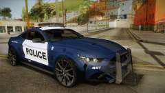 Ford Mustang GT 2015 Barricade Transformers 5 pour GTA San Andreas