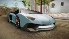 Lamborghini Aventador SV Roadster 2017 pour GTA San Andreas