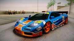 1996 Gulf McLaren F1 GTR (BPR Series) pour GTA San Andreas