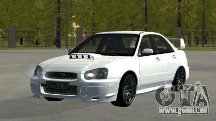 Subaru Impreza WRX STi Remastered pour GTA San Andreas