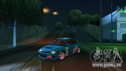 2003 Mitsubishi Lancer GSR Evolution VIII für GTA San Andreas
