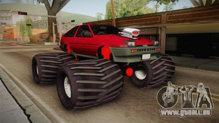 Toyota Corolla GT-S Monster Truck pour GTA San Andreas