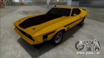 1971 Ford Mustang Mach 1 pour GTA San Andreas