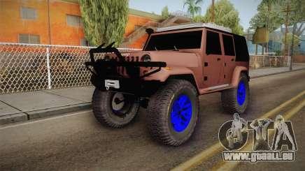 Jeep Wrangler 2012 pour GTA San Andreas