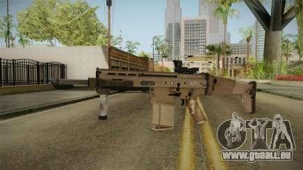 Battlefield 4 - FN SCAR-H pour GTA San Andreas